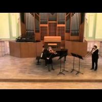 Preludium i Toccatina - Ewa Fabiańska-Jelińska 'Prelude and Toccatina' for viola and piano  Ewa Guzowska-viola, Wojciech Jeliński-trombone, 14.04.2015, Poznań Festival of Science and Art, the I. J. Paderewski Academy of Music